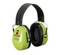 Наушники Противошумные 3М™Peltor™ Optime™ Ii Повышенной Видимости,Snr 31 Db,Складное Оголовье,Неоновый Зелёные,230Г