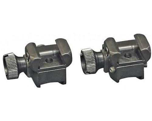 Быстросъемные раздельные стойки EAW для установки прицела с шиной LM на призму 11 мм (234-20000)