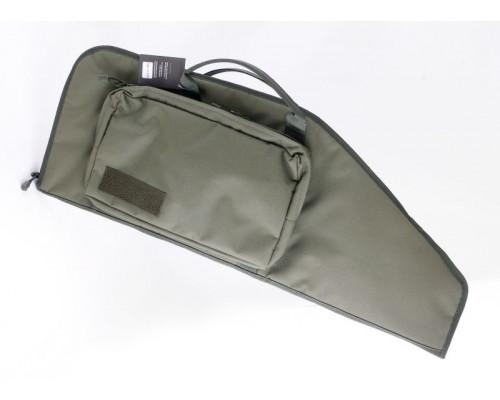 Кейс Vektor тактический из капрона зеленый с пенополиэтиленом, с карманом, 83х30 см