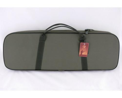 Чехол Vektor из капрона с поролоном и тканевой подкладкой для двуствольного ружья в разобранном виде с доп. карман, DISC