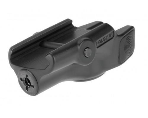 Лазерный целеуказатель HOLOSUN пистолетный,зеленый,на WEAVER/PICATINY,полимер,58г