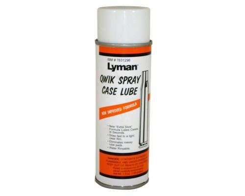 Смазка для гильз Lyman Quick Slick спрей 160мл