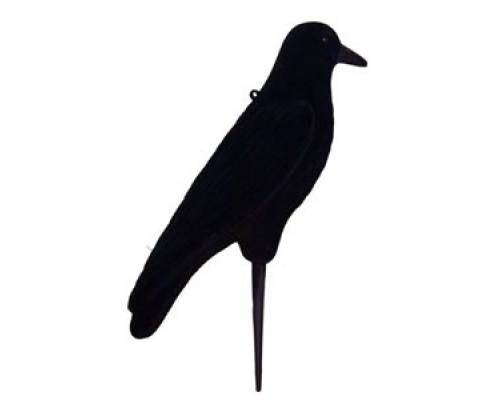 Чучело подсадное Tanglefree Crow ворона черная