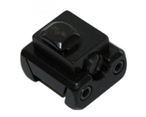Задняя нога поворотного кронштейна Apel-EAW, призма LM, BH=14 мм, KR=17 мм, Mauser M12 (414/0140/17)