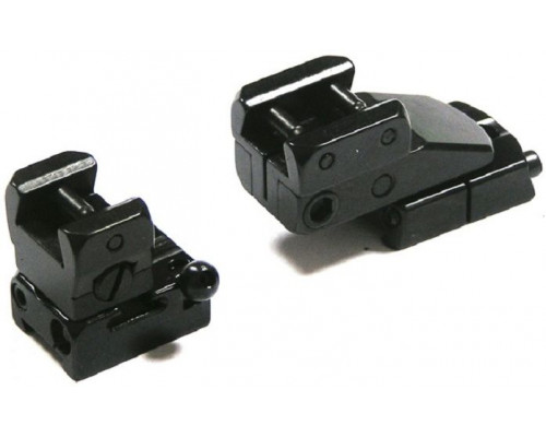 Быстросъемный поворотный кронштейн Apel, Heym SR21, шина LM, BH=17 мм, KR=45 мм (400-10306-KR45)