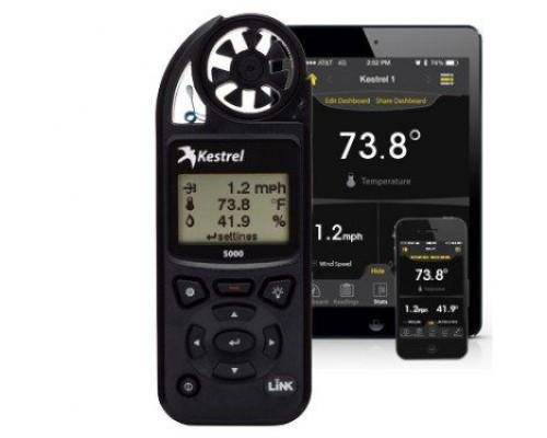 Карманная метеостанция KESTREL 5000 с интерфейсом Bluetooth и функцией Link