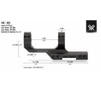 "Кронштейн Vortex Sport Cantilever 30мм BH=25мм (с выносом 2"") CM-202"