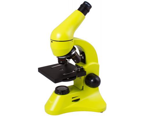Микроскоп Levenhuk Rainbow 50L PLUS (Лайм)