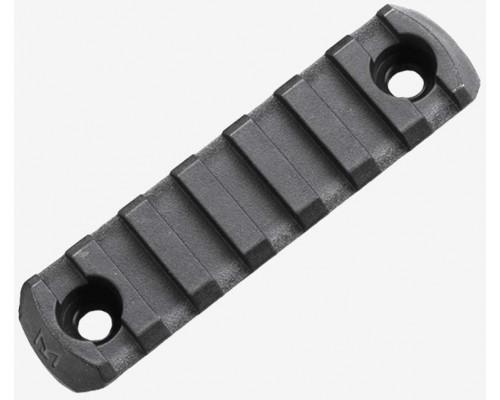 Планка Picatinny с креплением M-LOK полимерная, Magpul® M-LOK® Polymer Rail, 7 Slots MAG591