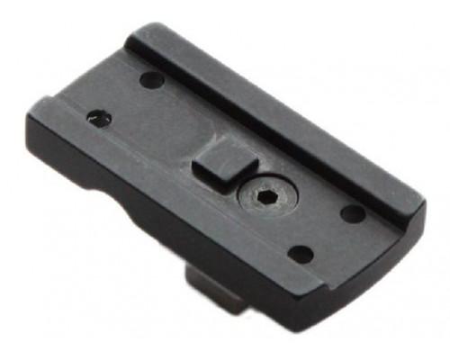 "База Apel для установки Aimpoint Micro на ""зульский крюк"", расстояние между окнами 6 мм (2719)"