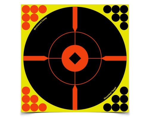 "Мишень бумажная Birchwood Shoot•N•C® Bull's-eye ""BMW"" 300мм"
