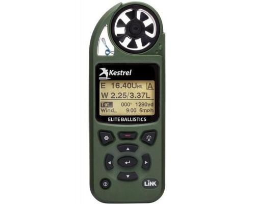 Карманная метеостанция KESTREL 5700 Elite c б.к. Applied Ballistics, цвет зеленый