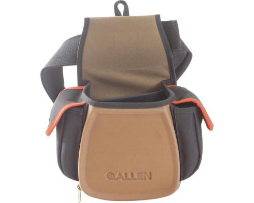 Сумка стендовая-поясная Allen для патронов с дополнительными карманами для наушников, очков, чоков
