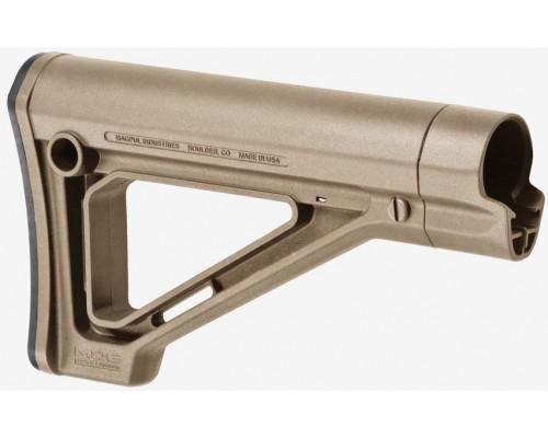 Приклад телескопический Magpul® Fixed Carbine Stock – Mil-Spec MAG480 (FDE)