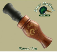 Манок духовой River Mallard Calls Walnut / poly double reed (Утка)