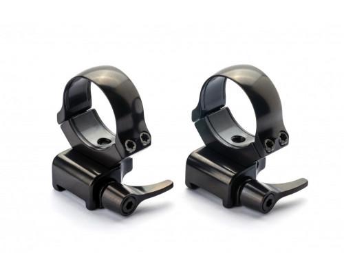 Быстросъемные кольца Rusan 30мм на CZ 527 BH=12мм (рычаг) 011-16,5-30-12-R
