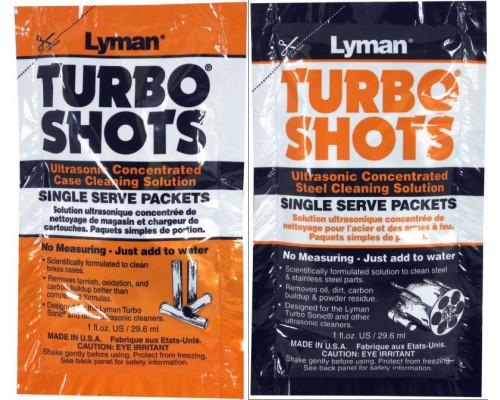 Комплект из 10 пакетов с чистящим средством для ультразвуковой очистки гильз, Lyman