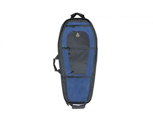 Чехол-рюкзак Leapers UTG на одно плечо, 86x35,5 см, цвет синий/черный