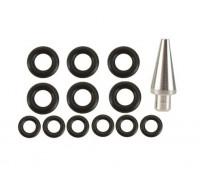 Комплект уплотнительных колец O-Rings с адаптером Dewey для направляющей ABS1)
