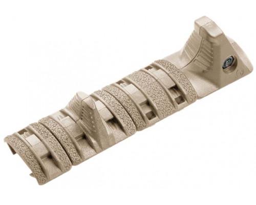 Накладка на цевье с упором Magpul® XTM® Hand Stop Kit 1913 Picatinny MAG511 (FDE)
