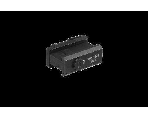 Крепление Picatinny с фиксатором для ночной насадки D-552 WP542F(H38)