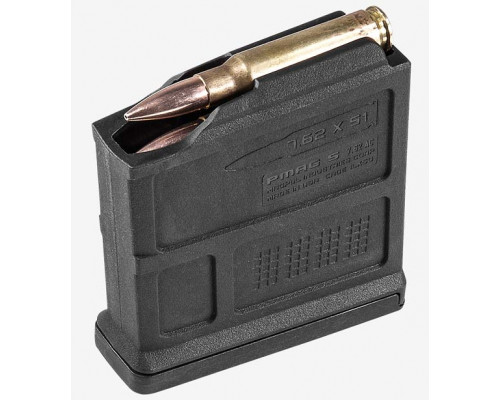 Магазин Magpul® PMAG® 5 7.62 AC™ – AICS Short Action 7.62x51mm NATO на 5 патронов MAG549 (Black)