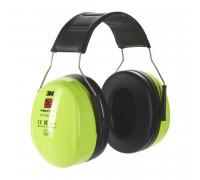 Наушники Противошумные 3М™Peltor™ Optime™ Iii Повышенной Видимости,Snr 35 Db,Нескладное Оголовье,Неоновый Зелёные,285Г