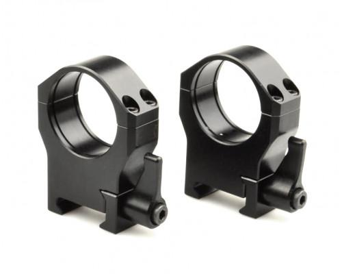 Быстросъемные кольца Luman Precision на Weaver 30мм BH=18мм LP30HWAL алюминевые