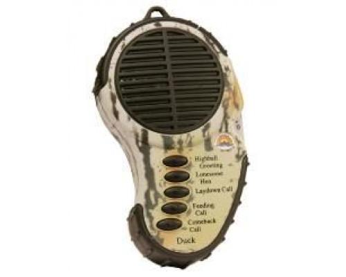 Звуковой имитатор Cass Creek на утку, компактный, 5 звуков, 3xAAA, 136гр.