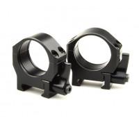 Быстросъемные кольца Luman Precision на Weaver 30мм BH=9мм LP30LWAL алюминевые