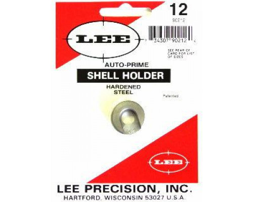 Шеллхолдер для капсюлятора LEE SHELL HOLDER #12 (22 PPC, 7.62x39)