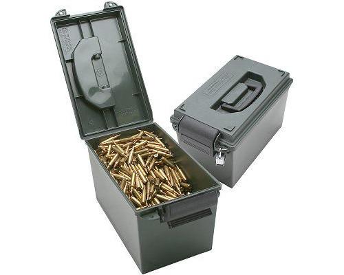 Кейс влагозащищенный для патронов Ammo Can AC11