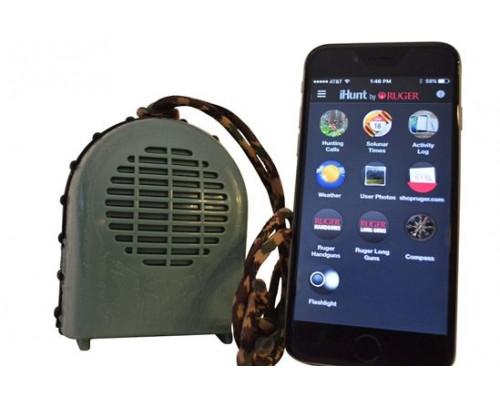 Динамик I-Hunt XSB с Bluetooth для Android/IOS, 700 звуков, 47животных и птиц, дистанц.40м., 100dB, влагозащищен