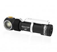 Налобный фонарь ARMYTEK WIZARD WR MAGNET USB+18650 (Холодный)