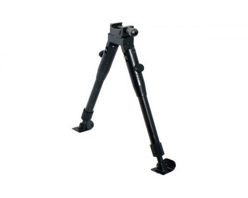 Сошки UTG для установки на оружие, регулируемые, на антабку и Picatinny, высота 23-28 см.