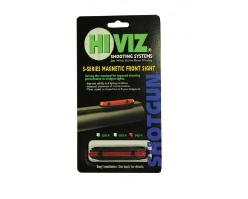 HiViz мушка S400-R красная широкая 8,2-11,3 мм