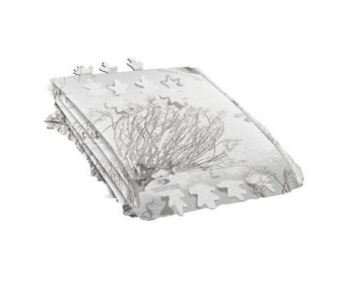 Сетка для засидки allen серия vanish, нетканая, 1,4х3,6м, камуфляж mossy oak brush winter, omnitex 3d, 0,1кг