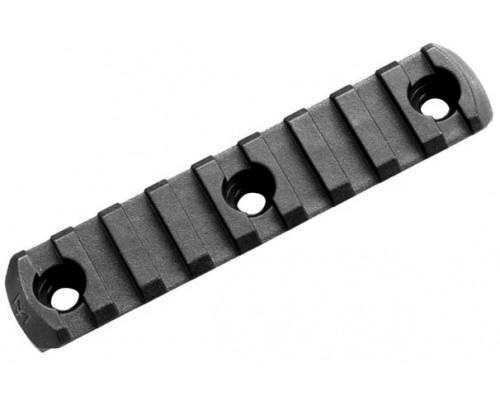 Планка Picatinny с креплением M-LOK полимерная, Magpul® M-LOK® Polymer Rail, 9 Slots M-LOK Slot System MAG592