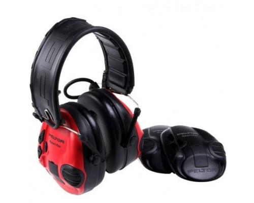 Активные наушники Peltor Sport-Tac, сменные боковые панели, (красные и черные) 37087.002