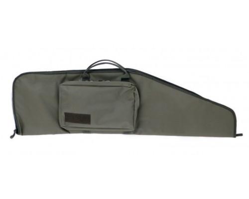 Кейс Vektor тактический из капрона зеленый с пенополиэтиленом, с карманом, 107х30 см