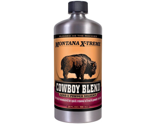 Очиститель ствола от свинца Montana X-Treme Cowboy Blend 590мл