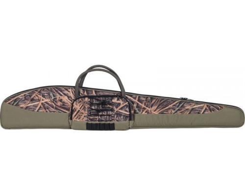 Чехол Allen для ружья камуфляж - камыш, 132 см, с карманом, DISC