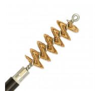Ершик бронзовый Bore Tech Bronze Spiral Brush, .12 кал., резьба папа 5/16-27 BTSB-12-100