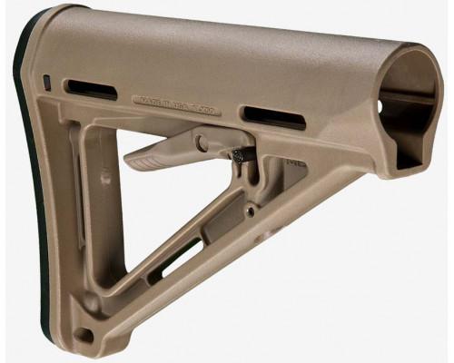 Приклад телескопический Magpul® MOE® Carbine Stock – Mil-Spec MAG400 (FDE)
