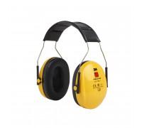 Наушники Противошумные 3М™Peltor™ Optime™ I, Snr 27Db,Нескладное Оголовье, Жёлтые,180Г