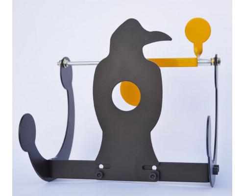 Мишень Stil Crin металлическая, сбрасываемая, ворона