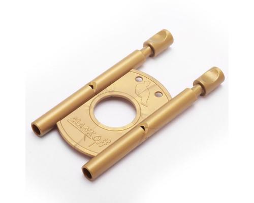 Манок на рябчика пластиковый Mankoff, двойной (золотой)