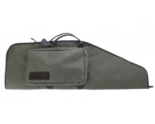 Кейс Vektor тактический из капрона зеленый с пенополиэтиленом, с карманом, 95х30 см