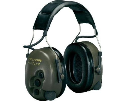 Активные наушники Peltor Pro Tactical II, OLIVE 37085000