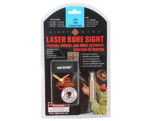 Лазерный патрон Sightmark 308 Win, 243 Win, 7mm-08, 260 Rem, 358 Win (SM39005)
